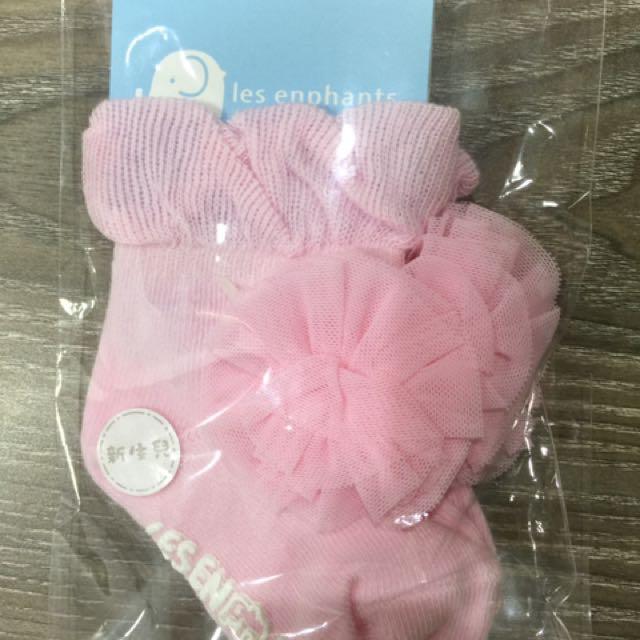 麗嬰房新生兒襪子