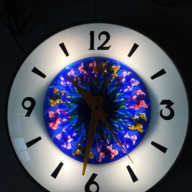 勞力士電鐘 凸面玻璃