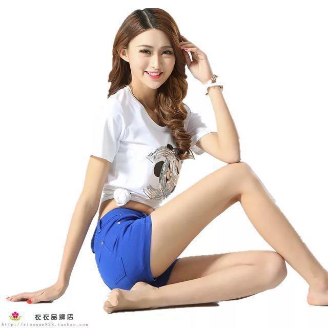 韓版顯瘦修身休閒褲♡