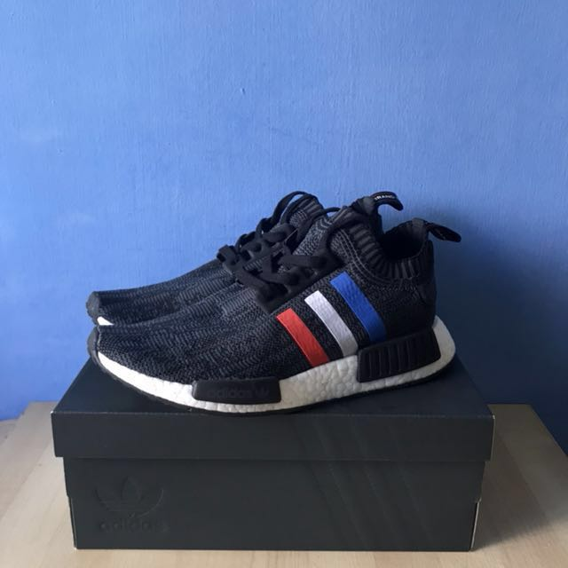 premium selection ee436 9b300 Adidas NMD R1 PK Tri Color Black