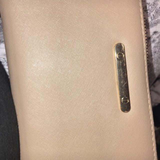 Aldo nude wallet