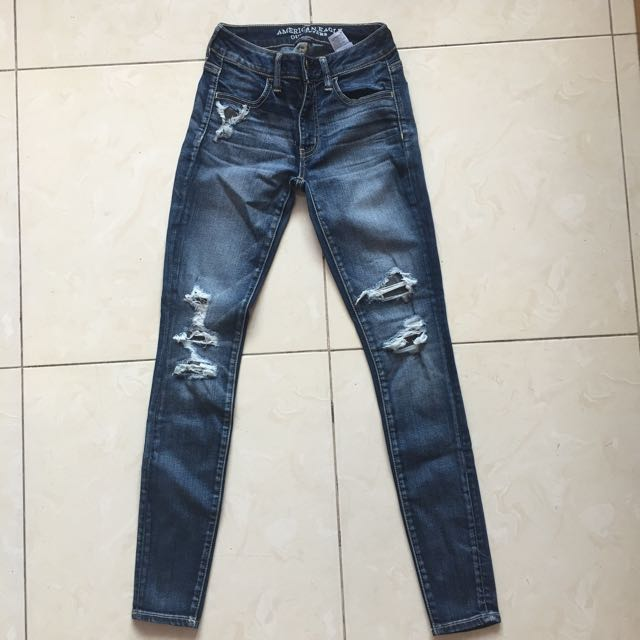 AMERICAN EAGLE Ripped Denim Jeans
