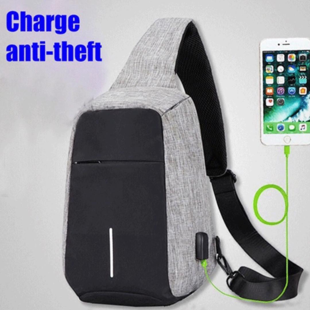 Anti Theft Bag Shoulder Chest Crossbody Bag