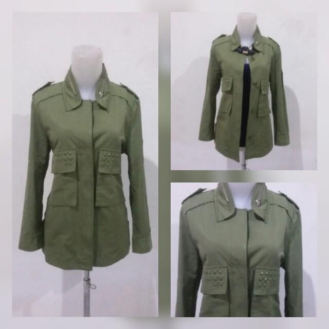 Army look jacket