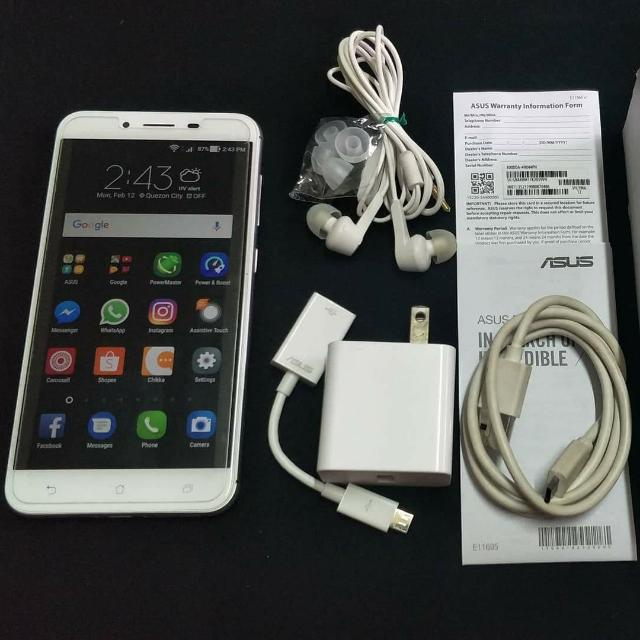 ASUS ZENFONE 3 MAX 5.5(REPRICED) with FREE NEW windshield phone holder