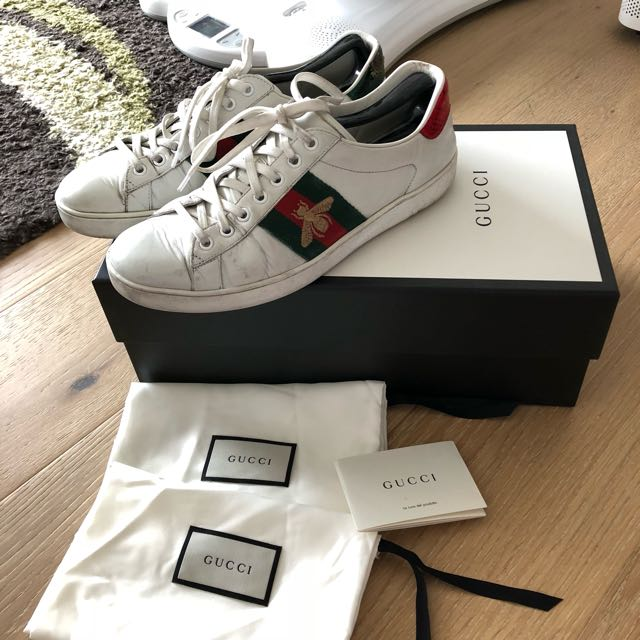 922aa46b800 Auth Preowned Gucci Mens Ace Sneaker Shoes AS IS SYDNEY PICK UP ...