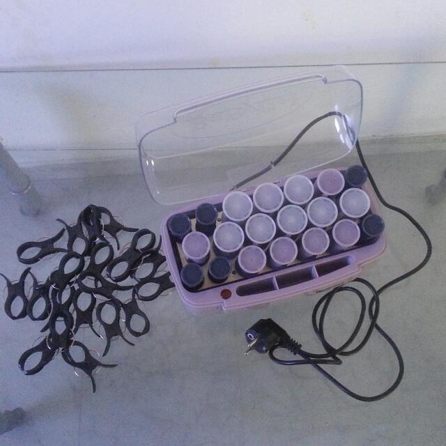 BABYLISS CURLERS (FREE GEL FOR CURLY HAIR - ABT HALF BOT)