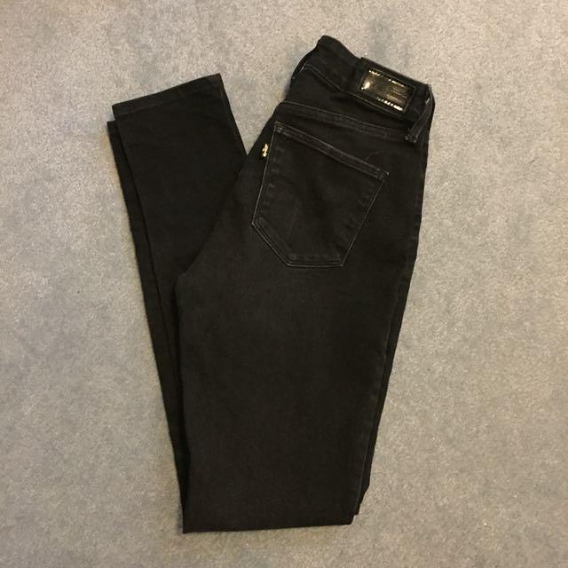 Black vintage levi jeans