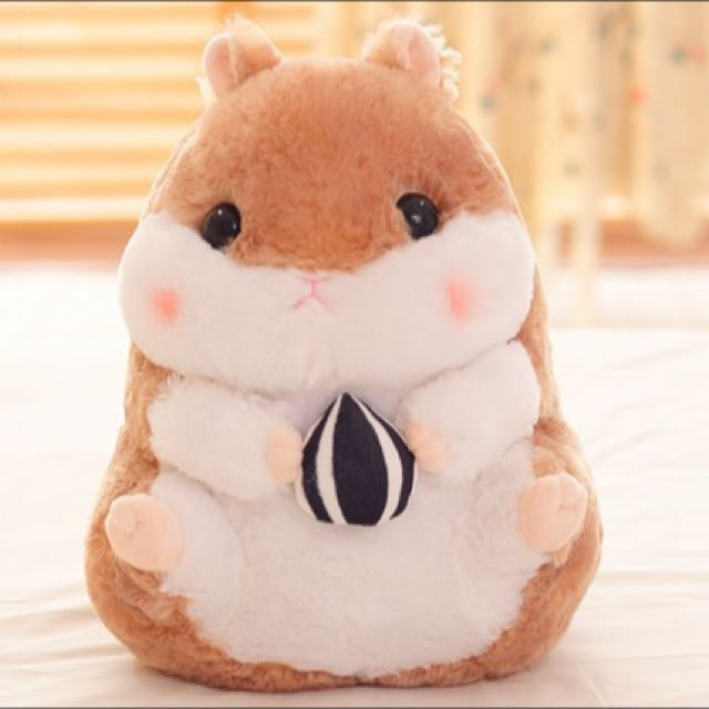 BN* Brand New Cute Fluffy Japanese Korean Hamster With