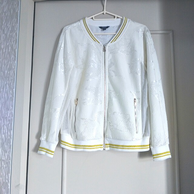 BNEW high-quality mixed fabric jacket