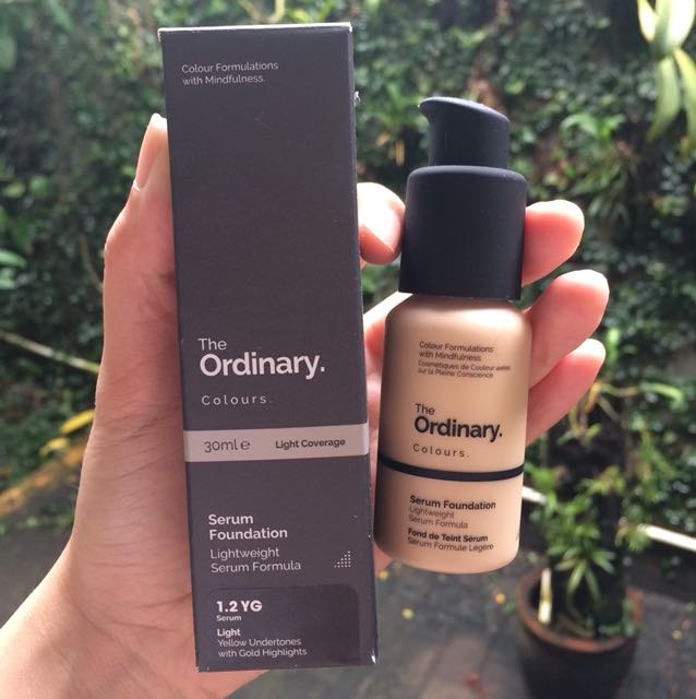BNIB the ordinary serum foundation
