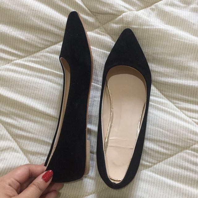 🌸Brand new Black Flat Shoes
