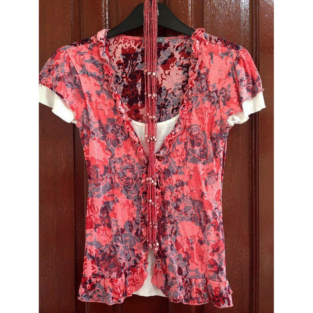 Buy 1 get an item free! Marks and Spencer Per Una blouse