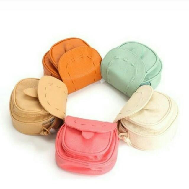 Candy Color Mini Sling Bag