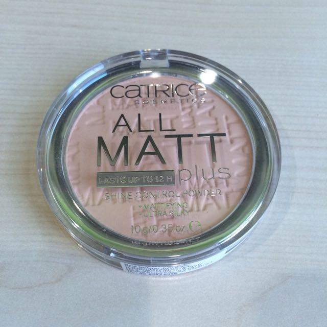 Catrice All Matt Plus Shine Control Make Up ( Powder ) [ code: 025  Sand Beige]