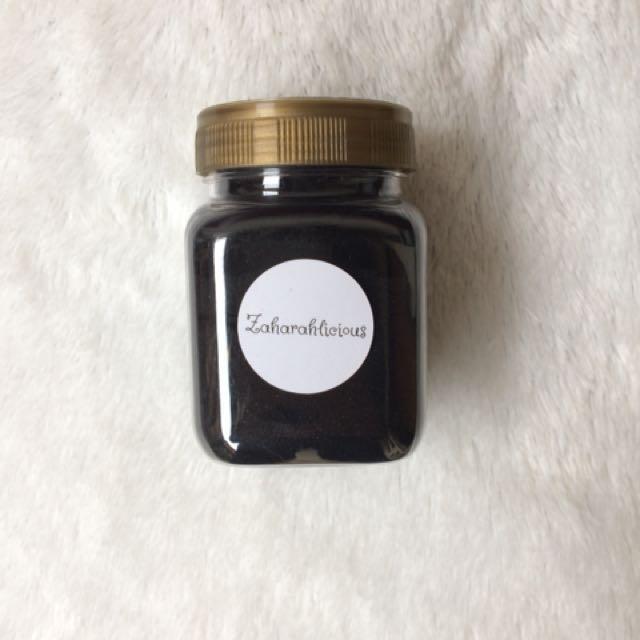 Charcoal Powder in jar 100gr