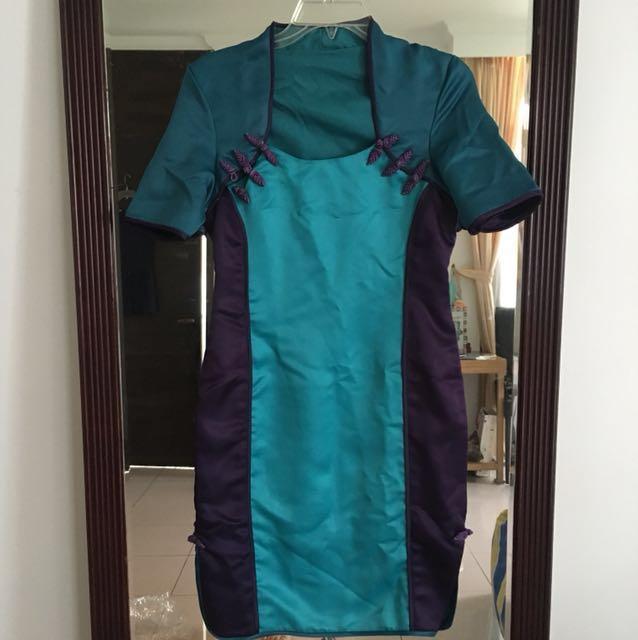 Chinese New Year Dress Imlek Cheongsam Baju Qipao