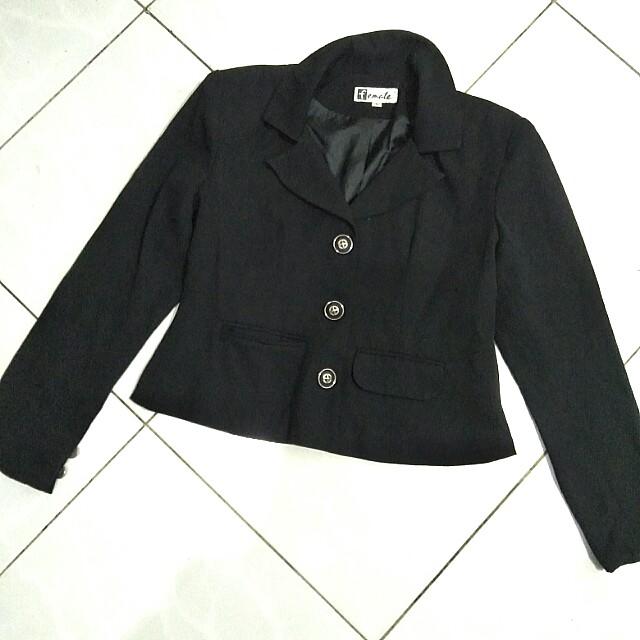 black blazer top