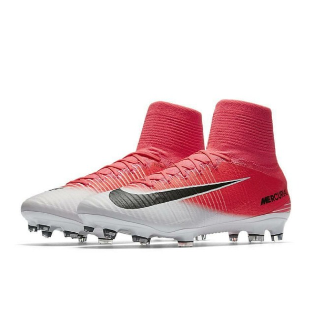 adcaf18f2 FLASH SALE [BNIB] Nike Mercurial Superfly V FG Pink White, Sports ...