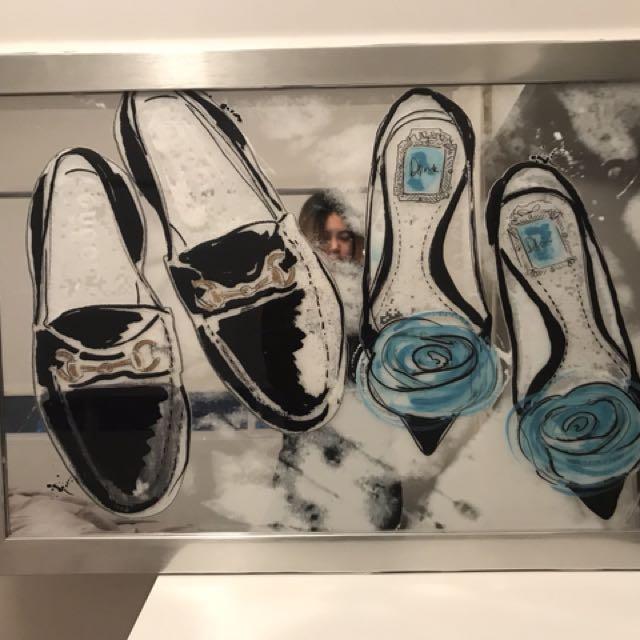 Designer mirrored artwork