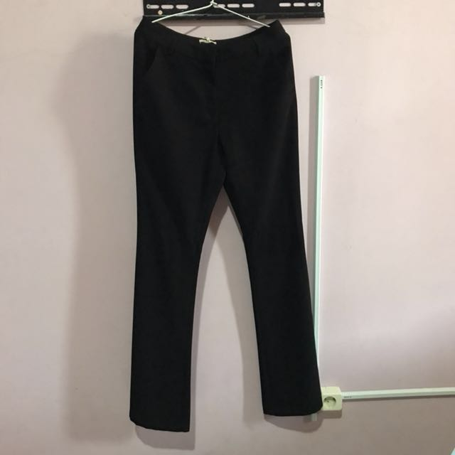 Et Cetera Black Long Pants
