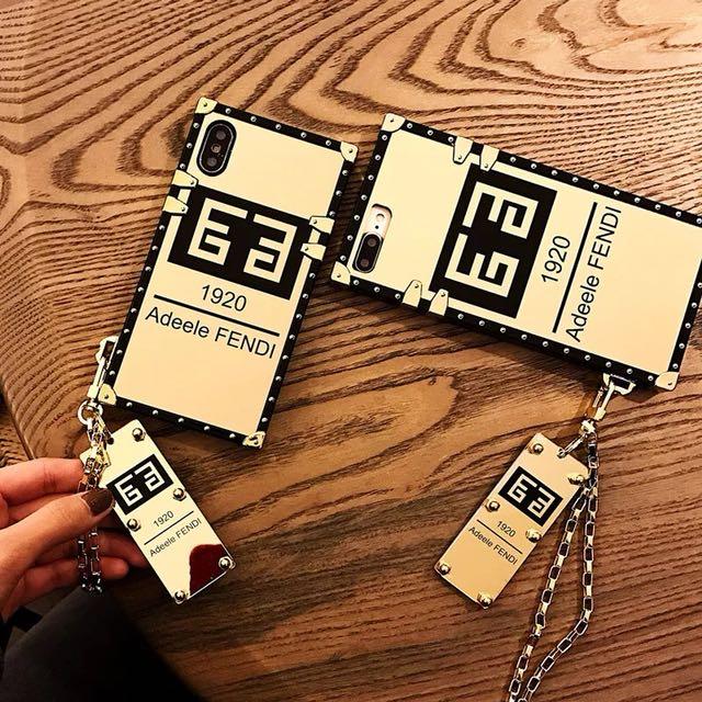 Fendi箱子造型手機殼
