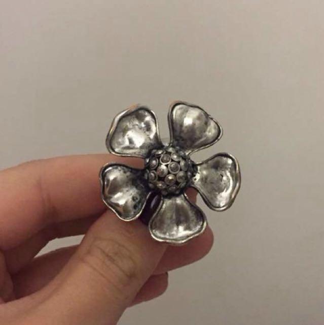 Flower Statement Ring