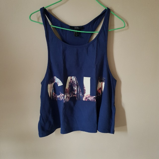 Forever21 Cali Tank Top