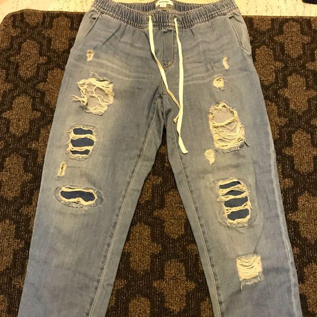 Garage Tie Up Jean