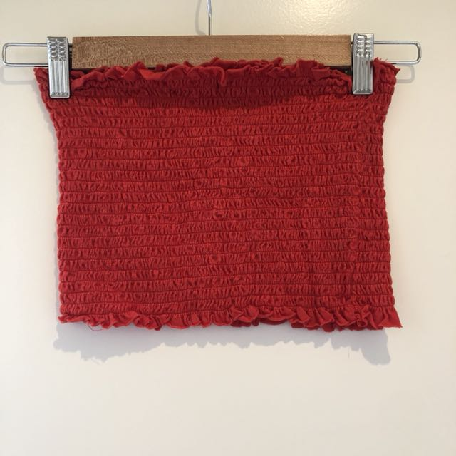 Glassons crop - Red