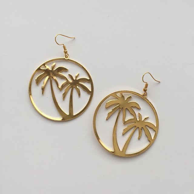 GOLD SUMMER LARGE EARRINGS