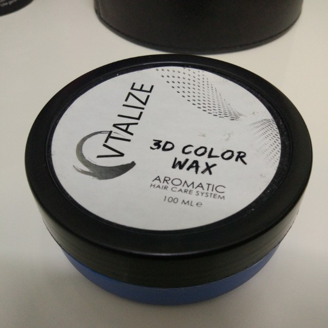 Hair Wax (Blue Colour)