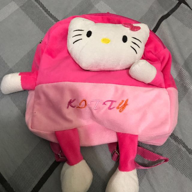 Hello kitty backpack bag