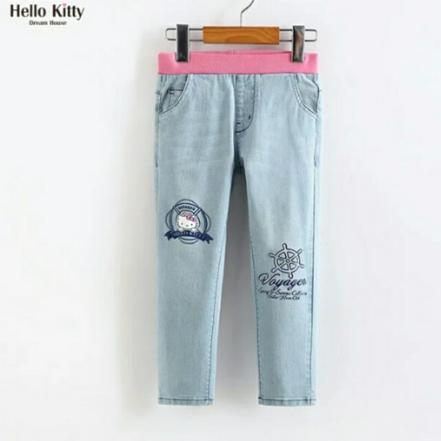 531b3f107 Clearing Authentic Hello Kitty Sailor Demin Jeans Pants, Babies ...