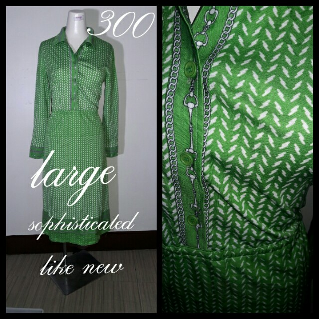 Hermes inspired dress