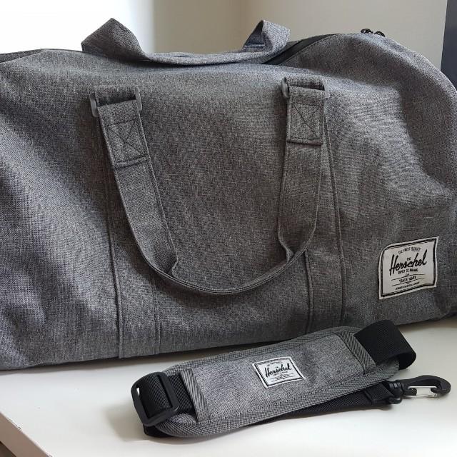 eb8c90bbfa3 💥Only  50!💥 Herschel Supply Co. Novel Duffel Bag Raven Crosshatch ...