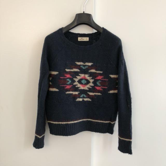 Hollister Navy Sweater