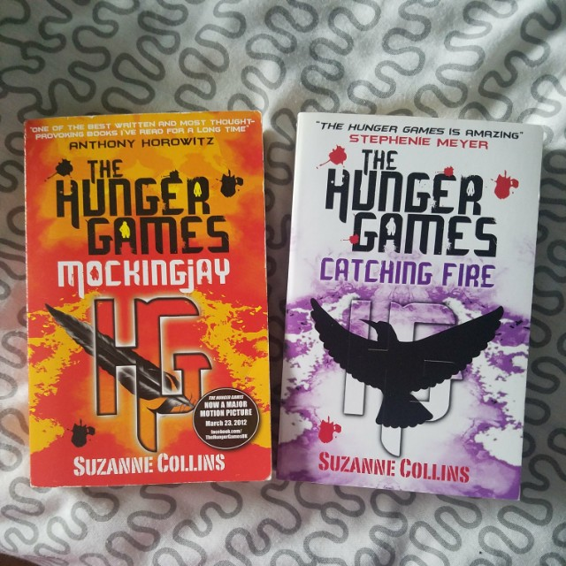Hunger games mockingjay and catching fire, books