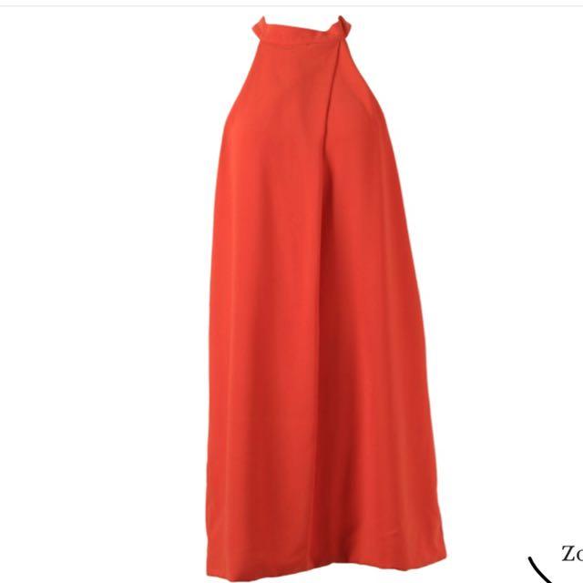 Icons orange dress