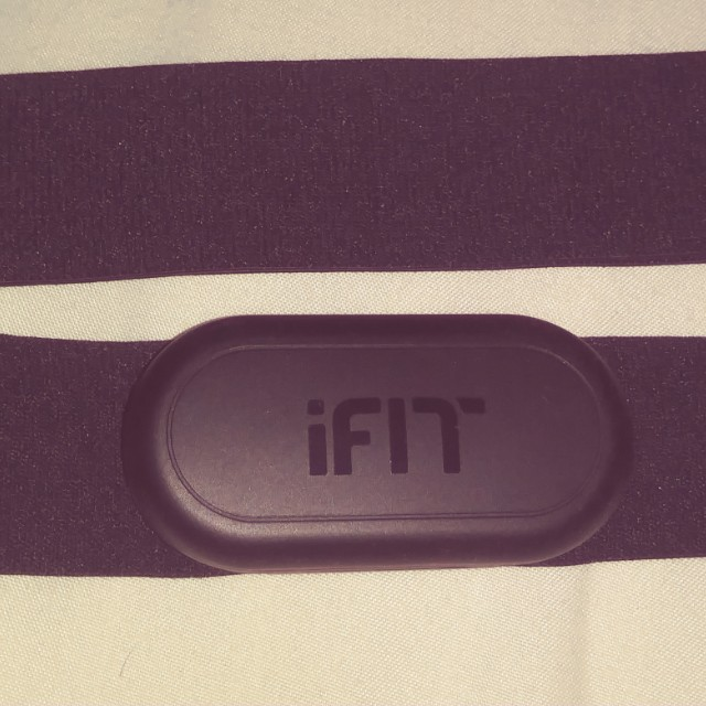 Ifit heartrate chest band