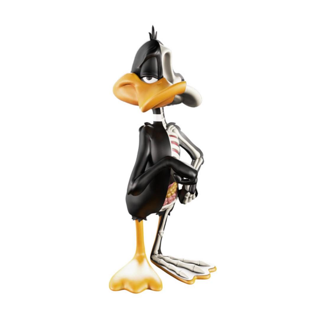 "Mighty Jaxx XXRAY Looney Tunes 4/"" Daffy Duck"