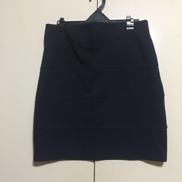 Jus ur size Dark Blue Skirt 2XL