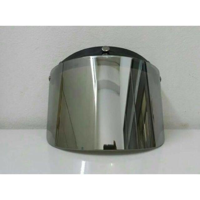 kaca bogo datar mirror chrome kaca helm