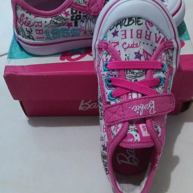 Keds Barbie Shoes for kids - Pink - UK 7.5