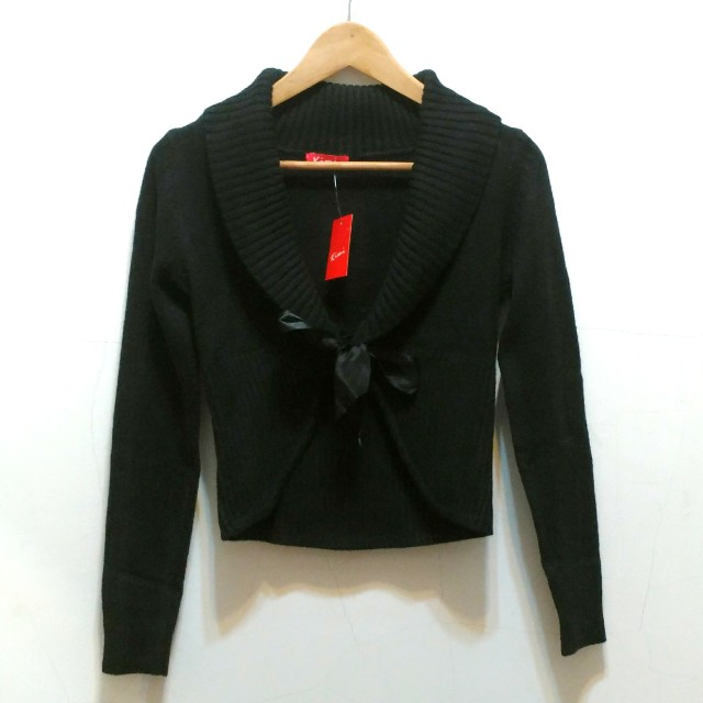Kimi晚宴針織小外套 黑色