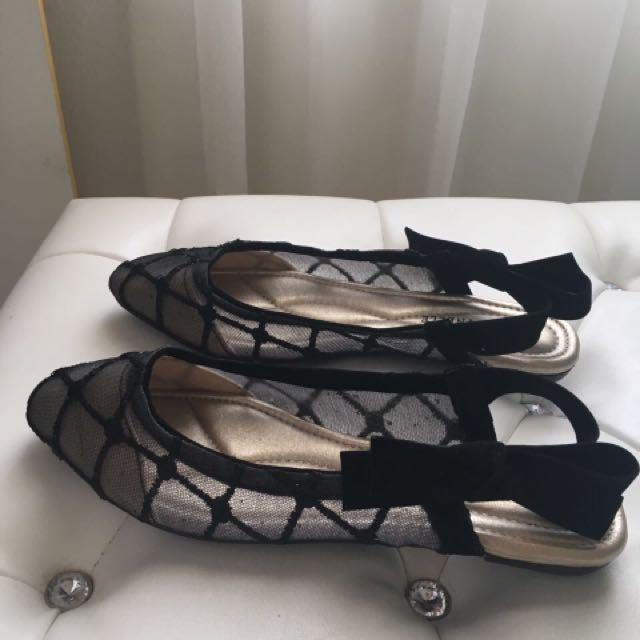 lace lynelle shoes sapatu size 37 new