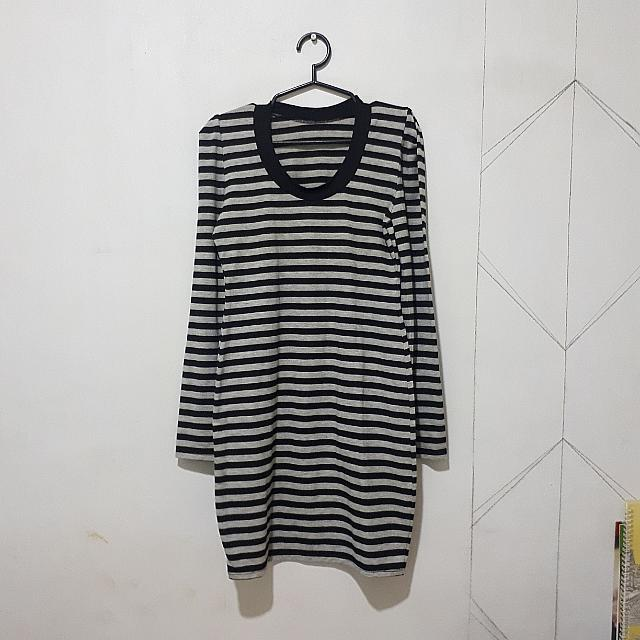 Long Sleeves Fitted Dress