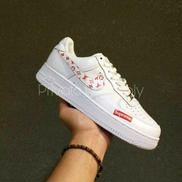 Louis Vuitton x Supreme x Nike Air Force 1 Low 97835afae2