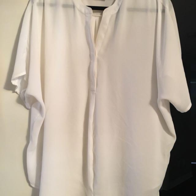 Lovely white top