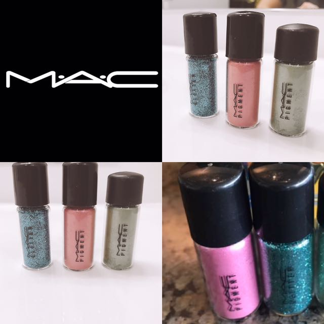 MAC Makeup Pigments $7 each